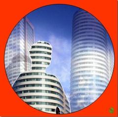 Interieur van de Raad voor de Kinderbescherming Rotterdam