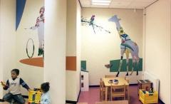 Interieur Raad voor de Kinderbecherming Rotterdam